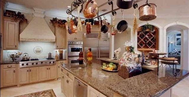 Дизайн современной кухни в русском стиле