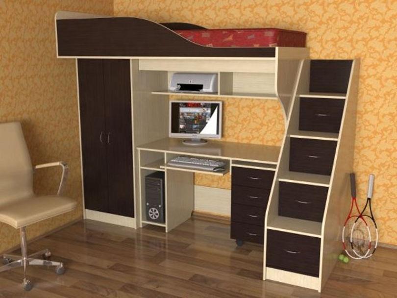 Компактная многофункциональная мебель