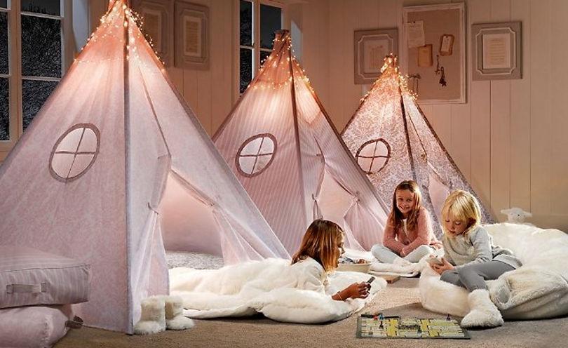 Оригинальные домики-палатки для игр и отдыха