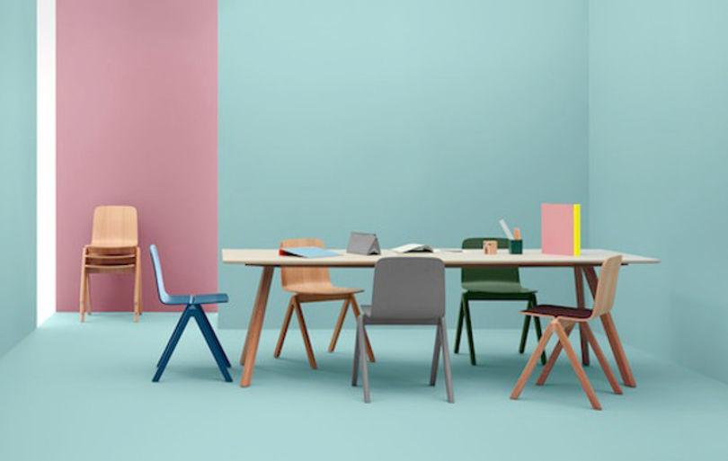 Штабелируемые стулья Copenhague от Hay
