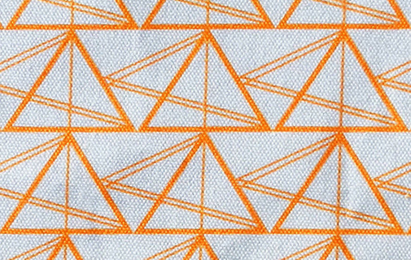 The Geometric Triangles Cotton Fabric