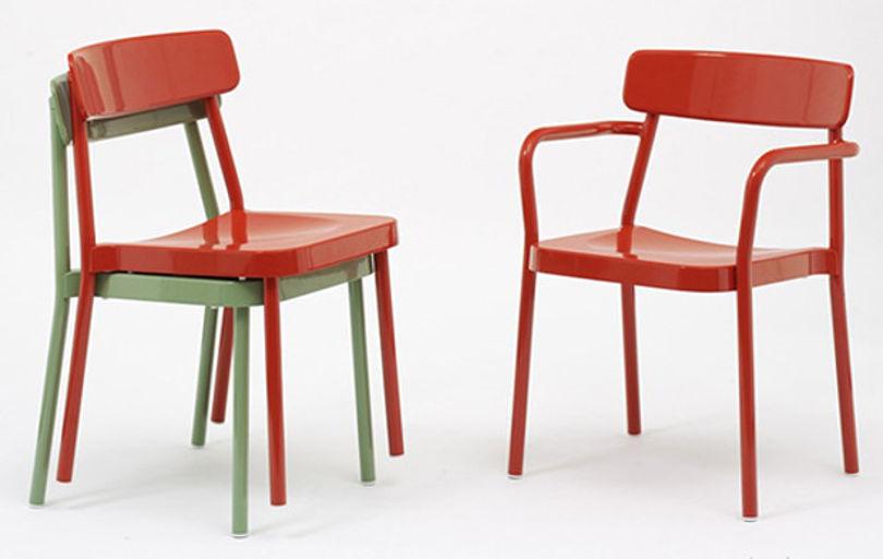 Штабелируемые стулья Grace от EMU