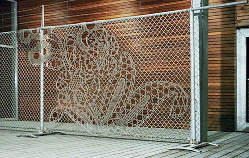 Кружевной забор от Demakersvan