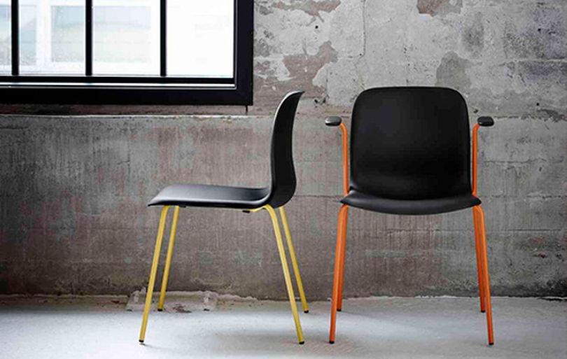 Штабелируемые стулья SixE от HOWE