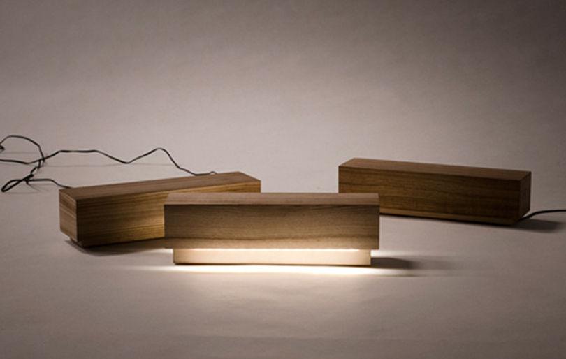 Лампа Log