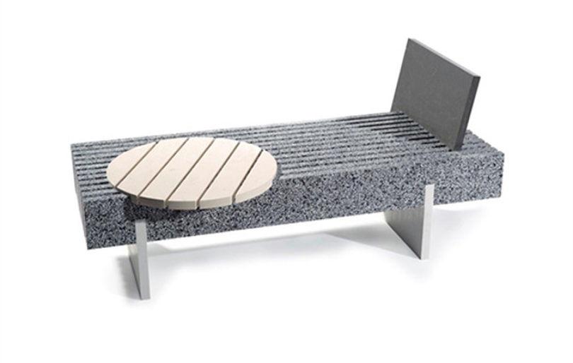 Скамейка со столиком Skid