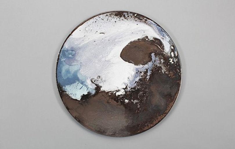 Керамическая крышка от Элизы Строжик