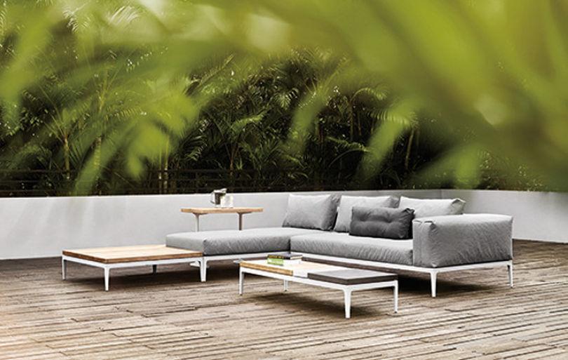 Мебель для улицы от Gloster