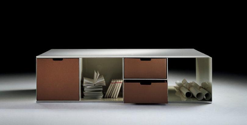 Низкий шкаф, дизайнер Антонио Читтерио