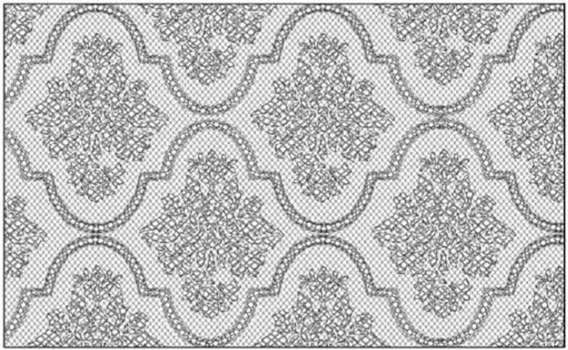 Кружевной забор от Demakersvan серия Wallpaper