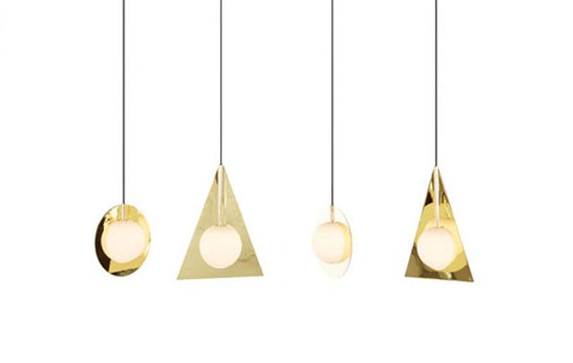 Лампы из меди Plane от Тома Диксона