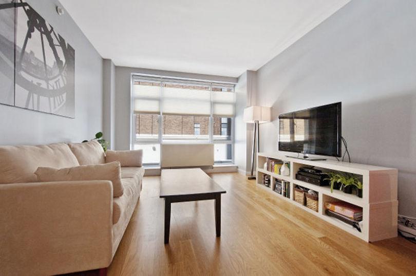 Двухкомнатная квартира в Нью-Йорке площадью 80 кв.м.
