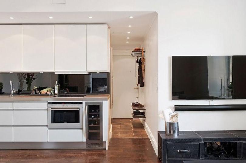 Дизайн двухкомнатной студии 44 кв.м.