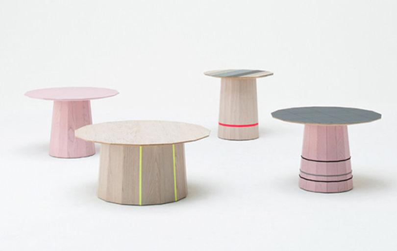 Журнальные столики Color wood