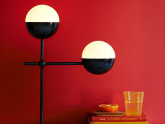 Лампа Globe от West Elm