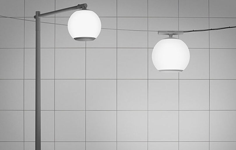 Шаровидный светильник для улицы Halo от Ateljé Lyktan