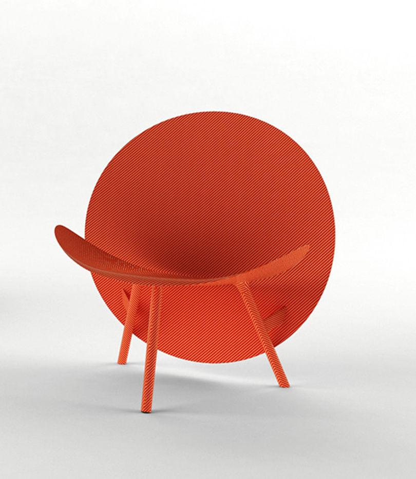 Кресло из карбона Halo от Hypetex
