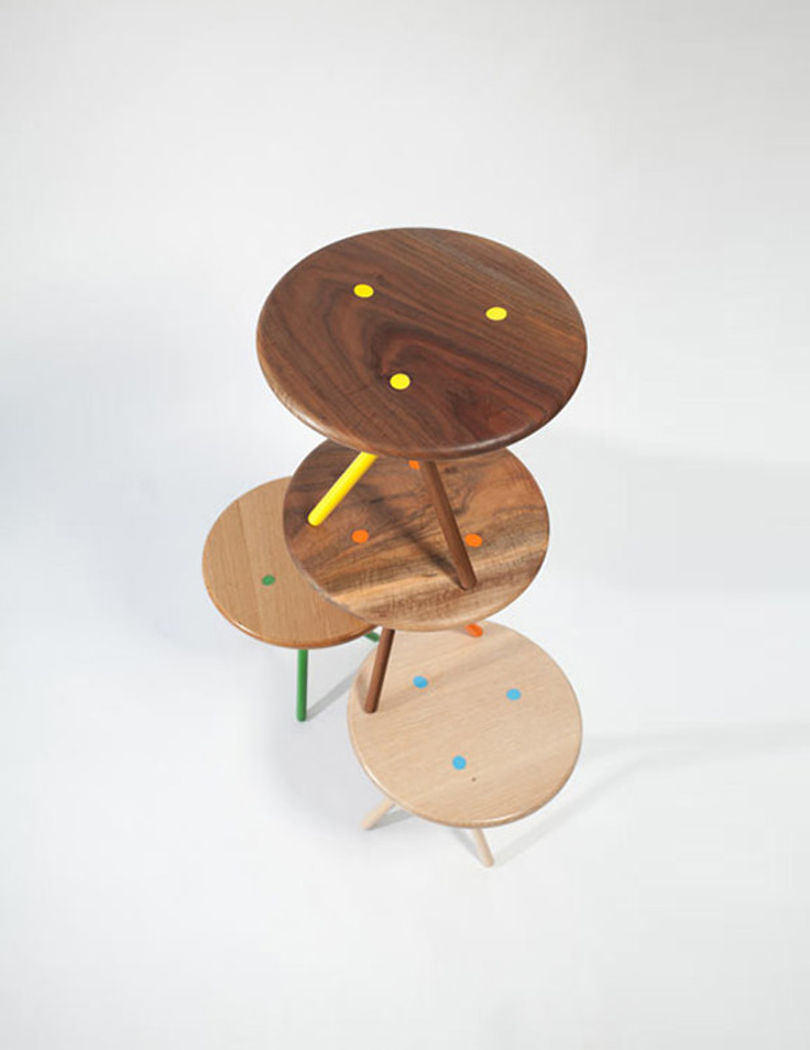 Круглые столики Soft от Curtis Popp