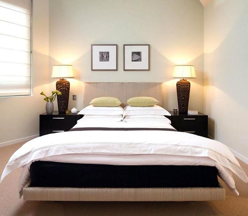 Кровать во второй спальне