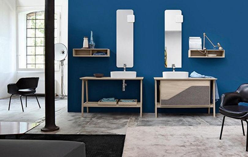 Мебель для ванной Free от Cerasa