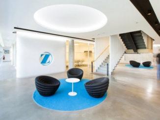 Дизайн головного офиса компании Zimmer