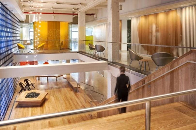 Дизайн офиса компании Pandora Media