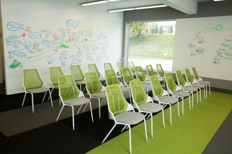 Дизайн офиса WEB-студии Treefrog