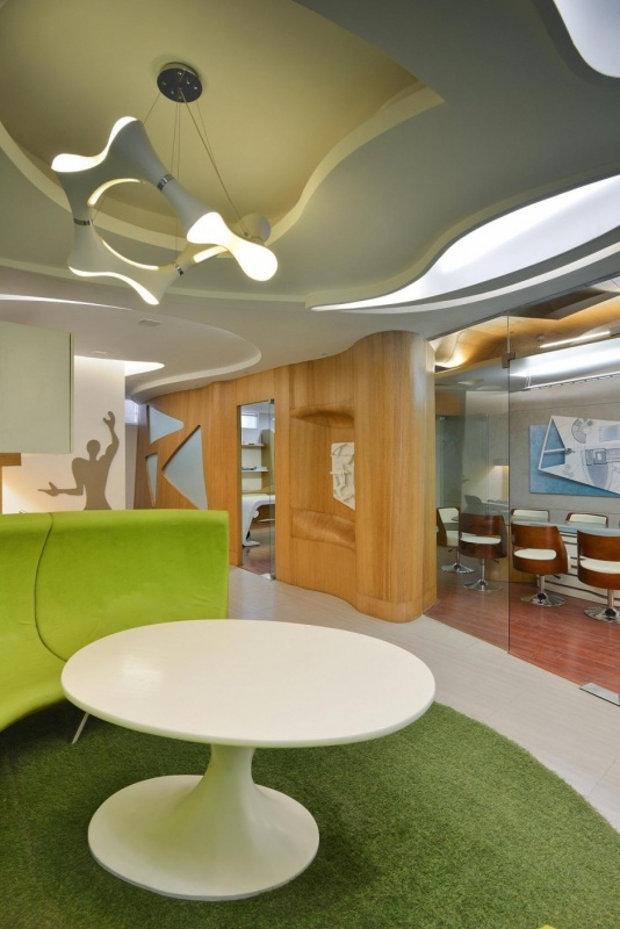 Дизайн офиса архитектурного бюро Spaces Architects@KA
