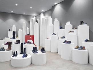 Дизайн интерьера обувного магазина