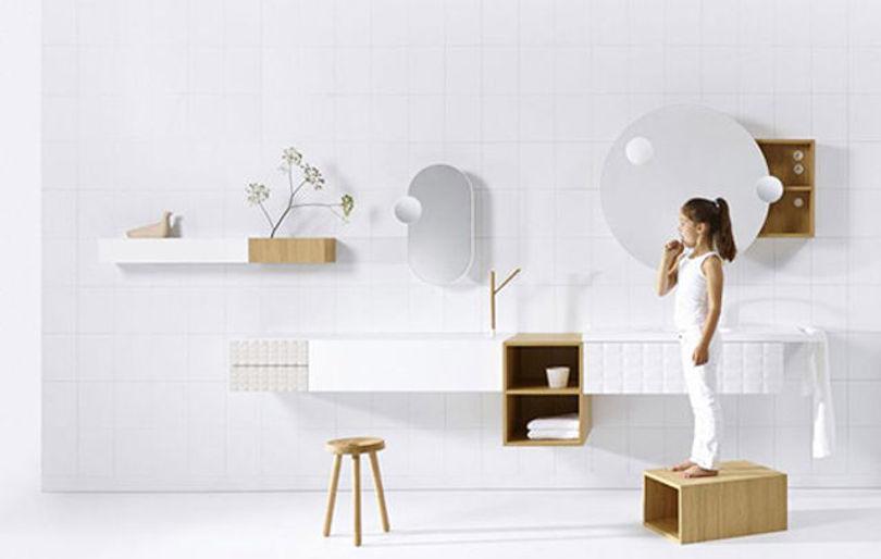 Коллекция мебели для ванной от бренда Vika