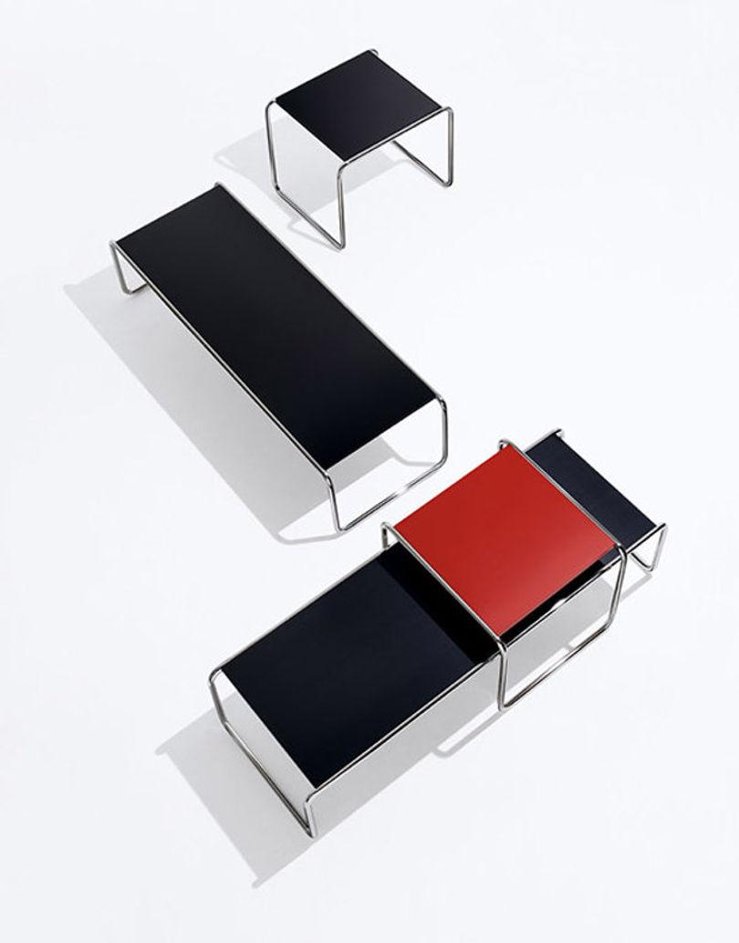 Коллекция журнальных столиков Laccio от Knoll