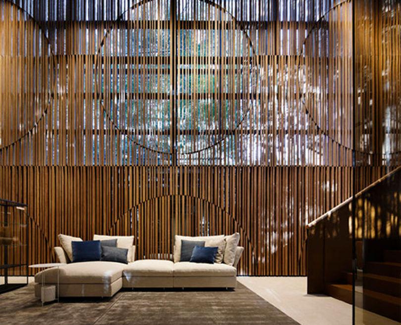Дизайн интерьера мебельного магазина Molteni&C