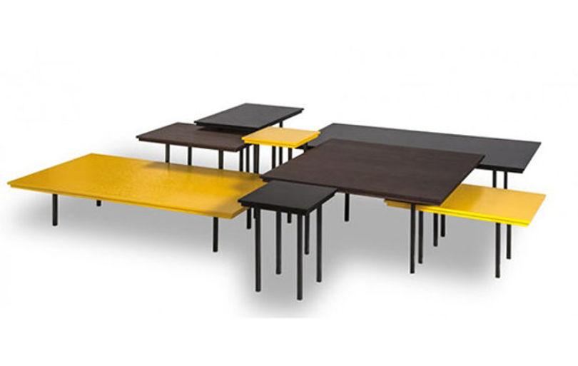 Коллекция журнальных столиков Pixel tables от Duvivier First Time