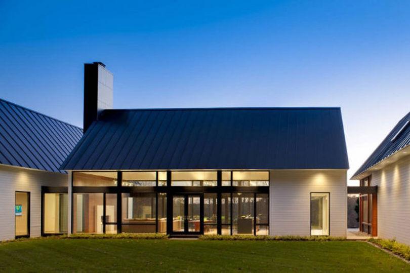 Крыша покрытая металлом