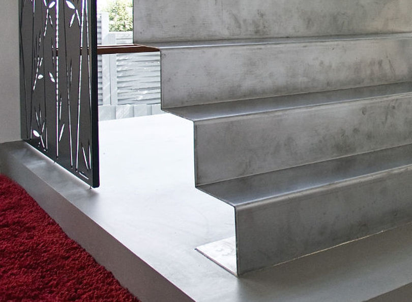 Оригинальная металлическая лестница
