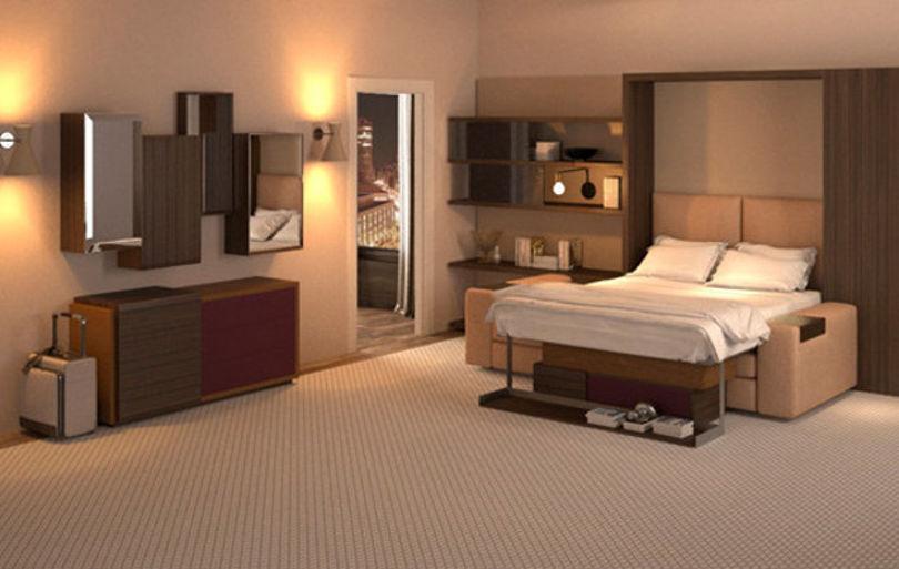 Коллекция мебели для гостиниц Kinetic