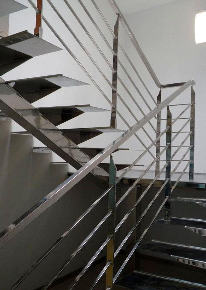 Перила для лестницы из нержавеющей стали